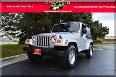 eBay: 2005 Jeep Wrangler X 2005 Jeep Wrangler X 164815 Miles Bright Silver Convertible Straight 6 Cylinder #jeep #jeeplife