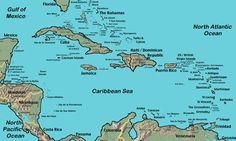 Historia do Caribe - Ache Tudo e Região