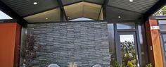 exterior cladding new zealand - Google Search House Cladding, Exterior Cladding, Garage Doors, Google Search, Outdoor Decor, Home Decor, Exterior Siding, Decoration Home, Room Decor