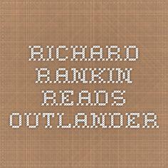 Richard Rankin aka Roger Wakefield Reading Outlander