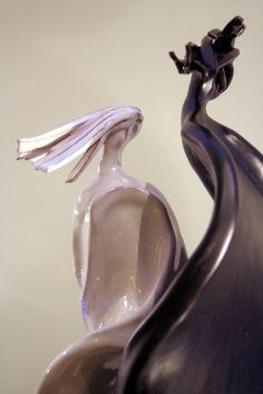 Dettaglio sculture in ceramica