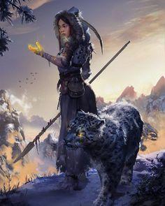scifi-fantasy-horror: byAleksandra Skiba - my collection of art stuff Dark Fantasy Art, Fantasy Rpg, Fantasy Girl, Fantasy Artwork, Fantasy Art Women, Fantasy Inspiration, Character Inspiration, Fantasy Character Design, Character Art