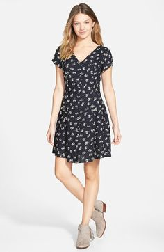 Zoe+and+Rose+Button+Front+Skater+Dress+(Online+Only)+available+at+#Nordstrom