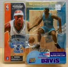 ba3a2c439 2003 McFarlane NBA Series 3 Baron Davis New Orleans Hornets action figure. L  Prichard