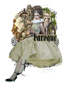 ♦Baroque Chic♦ by cindu12 on Polyvore featuring art