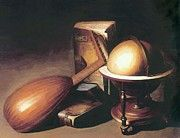 """New artwork for sale! - """" Still Life With Globe Lute And Books by Dou Gerrit """" - http://ift.tt/2jB7Zn1"""