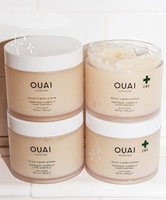 Ouai Launches a CBD-Infused Scalp and Body Scrub Scrub, scrub, pass? the straight dope on new detox scrub Exfoliating Face Scrub, Exfoliate Face, Hair Scrub, Scalp Scrub, Face Scrub Brush, Ouai Hair, Korean Beauty Routine, Best Skincare Products, Body Scrubs