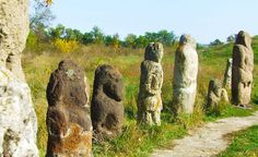 Scythians Kurgan stelae Khortytsia