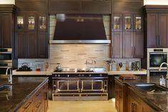 #RockyMountainHardware cabinetry throughout this stunning kitchen! // #madeinusa #doorhardware #solidbronze   San Diego Real Estate Flash Report