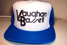 Vintage Vaughan Bassett trucker style hat 1980's 100-323 in Collectibles | eBay