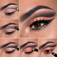 Orange Cut Crease