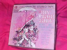 My Fair Lady Reel Tape Columbia OQ644 4track by VintageAudioPlus