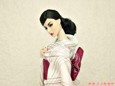 Fashion Royalty Agnes Pink kimono