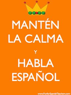 Bilingual Teacher Clubhouse: Free Signs for Spanish Class