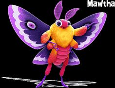 Tuesday - Mawtha The Moth