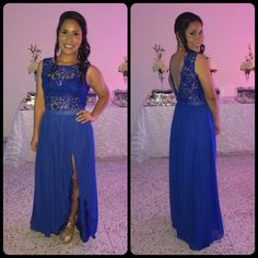 Wonderful blue dress #Blue #Dress