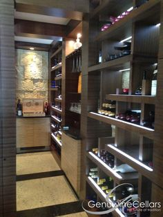 Modern | Wine Cellar | Design | Dream Home | Luxury | Wine www.genuwinecellars.com