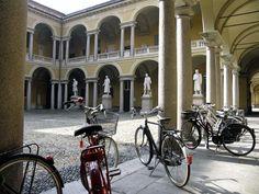 University of Pavia, Italy. #Bicycle!