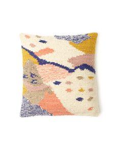 The Cartographer Pillow by MINNA