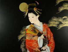 Moon doll geisha