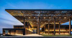 tabanlioglu architects international conference center dakar senegal designboom