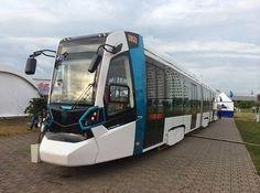 Pregopontocom @ Tudo: The Stadler Minsk apresenta seus novos Bondes - VL...  O veículo é designado como Tipo 853 para o unidirecional e 85300M para a variante bidirecional, e baseia-se na Belkommunmash 843/84300M que está em operação em Minsk , Kazan e São Petersburgo.