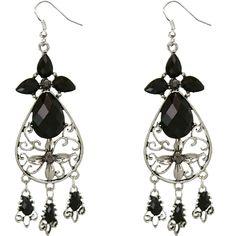 Get fancy in these Turquoise dangle earrings.