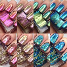 The Polish List: Barry M Aquarium Collection Swatches & Review