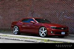 Dream car with addition of black stripes