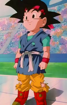GOKU JUNIOR #dragonball #anime #goku