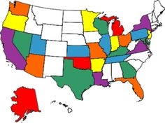 My Visited States Map