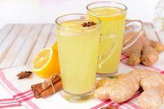 energy drink con curcuma e zenzero Ginger Juice, Ginger Tea, Cleanse Your Liver, Onion Juice, 5 Recipe, Ginger Benefits, Jus D'orange, Kidney Stones, Balanced Diet