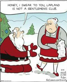 Santa has to work hard to stay off the naughty list. Brevity on Even Santa has to work hard to stay off the naughty list. Brevity on Funny Christmas Jokes, Christmas Comics, Naughty Christmas, Christmas Cartoons, Christmas Quotes, Christmas Humor, Christmas Fun, Holiday Fun, Funny Xmas Quotes