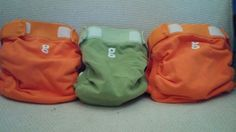 gDiapers Set Lot of 3 Medium #gDiapers