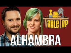 Alhambra: Ashley Johnson, Shane Nickerson, and Dodger Leigh Join Wil on TableTop, episode 17