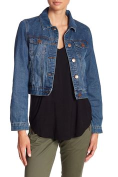 3a690ae57e6 Girlfriend Denim Jacket. Free Shipping on orders over $100