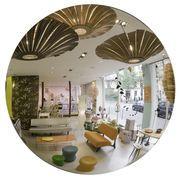 Miroir Adnet Ø 45 cm Noir - Gubi - Adnet - Décoration et mobilier design avec Made in Design