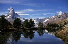 Oh yeah... The Matterhorn.  Zermatt, Switzerland.