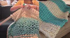Comment tricoter un gigantesque couverture!