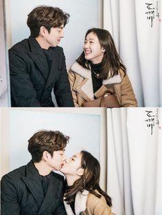Gong Yoo, Korean Celebrities, Korean Actors, K Pop, Goblin The Lonely And Great God, Korean Couple Photoshoot, Goblin Korean Drama, Kim Go Eun, Drama Memes