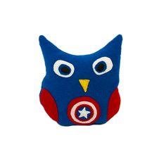 Капитан Америка Captain America Marvel comics - Owl Pillow -  Совы Подушки от Швейных дел мастера www.masterpillow.ru