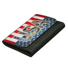 USA Flag Women's Wallet