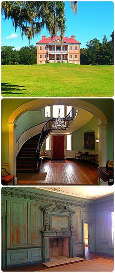 Drayton Hall & Joseph Manigault House in Charleston, SC