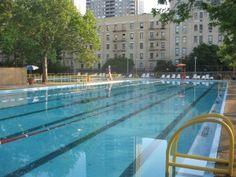 John Jay Park Pool