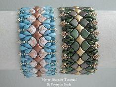 bead embroidery patterns on fabric Bead Crochet Patterns, Bead Embroidery Patterns, Beading Patterns Free, Beaded Embroidery, Weaving Patterns, Embroidery Bracelets, Seed Bead Tutorials, Beading Tutorials, Beaded Bracelets Tutorial