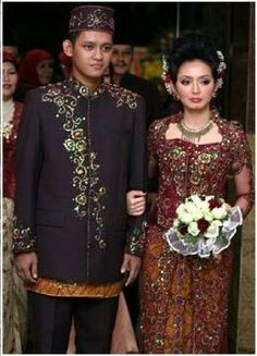 Indonesia wedding dress
