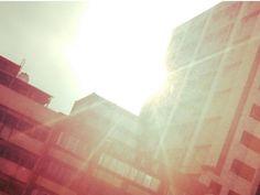 rising sun in Taipei