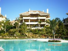 Valgrande luxury gated community next to Valderrama golf duplex 4 bed penthouse TO LET 2500 euros pm 12 month contract