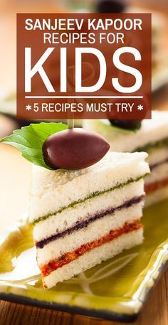 5 Must Try Sanjeev Kapoor Recipes For Kids : He was the first Indian celebrity who belonged to the hospitality industry and till date remains the most famous. Indian Snacks For Kids, Indian Recipes For Kids, Healthy Snacks For Kids, Indian Food Recipes, Kids Cooking Recipes, Baby Food Recipes, Kids Meals, Cooking Games, Cook Meals