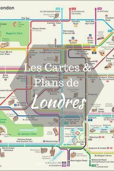Decouvrez Les Cartes Plans De Londres Pour Mieux Preparer Votre Voyage